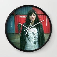 Marina y Carlos Wall Clock