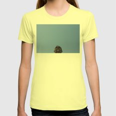 head Womens Fitted Tee Lemon SMALL