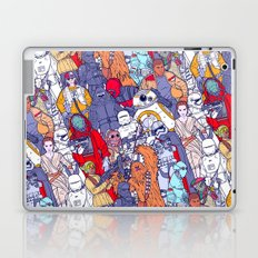 Space Toons in Color Laptop & iPad Skin