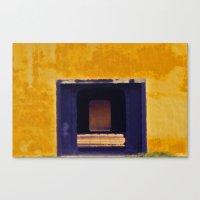 Emperor's yellow house Canvas Print