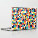 Curved Squares Laptop & iPad Skin