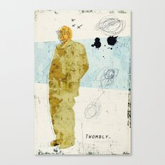 Twombly Canvas Print