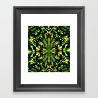 Water Lilies Kaleidoscop… Framed Art Print
