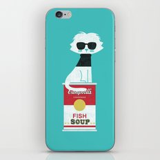 Mark The Cat Who Loves A… iPhone & iPod Skin