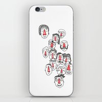 Nose Buddies iPhone & iPod Skin