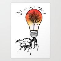 Life Light Art Print