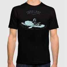 ballet Black Mens Fitted Tee SMALL