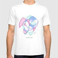 Cirque-Cle #5 Mens Fitted Tee White SMALL
