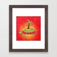 Pacific Turtle Framed Art Print