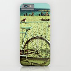 Bicycle by the Beach iPhone 6 Slim Case