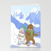 Snow Day! Stationery Cards