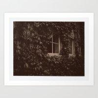 Secret Window Art Print