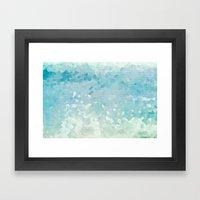 Ocean Palette Framed Art Print