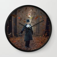 Don't Lose Your Head. Wall Clock