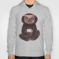 Sloth I♥lazy Hoody