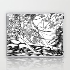 Secret Path / Original A4 Illustration / Pen & Ink Laptop & iPad Skin