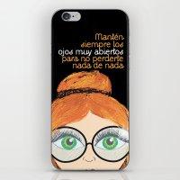 Con los ojos muy abiertos! iPhone & iPod Skin