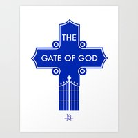 The Gate Of God Art Print