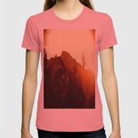 To George Womens Fitted Tee Pomegranate SMALL