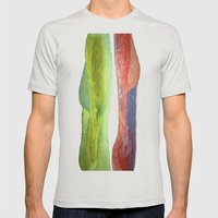 Woman Vs Woman Mens Fitted Tee Silver SMALL