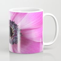 Hello Spring - The Heart of a Anemone  Mug