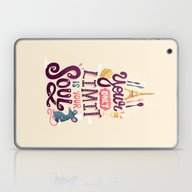 Your Only Limit Is Your … Laptop & iPad Skin