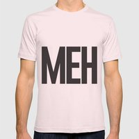 MEH Mens Fitted Tee Light Pink SMALL