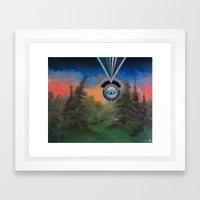 The Joy Of Painting Framed Art Print