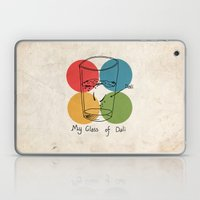 This Is My Glass Of Dali Laptop & iPad Skin