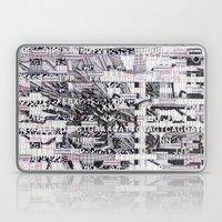 Surrender Your Information (P/D3 Glitch Collage Studies) Laptop & iPad Skin