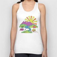 My Happy Place Unisex Tank Top