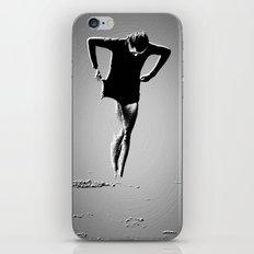 Woman Emerging (a) iPhone & iPod Skin