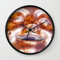 Shiny, Happy Buddha  Wall Clock