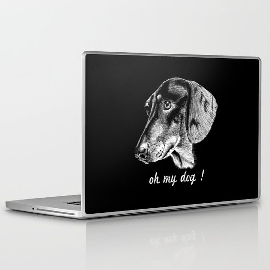 oh my dog ! Laptop & iPad Skin