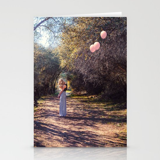 Float away Stationery Card