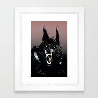 The Werewolf Framed Art Print