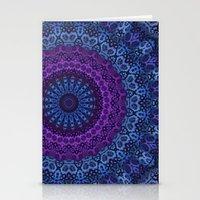 Twilight Mandala Stationery Cards