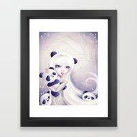 Panda: Protection Series Framed Art Print