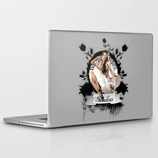 Lady Fabulous Laptop & iPad Skin