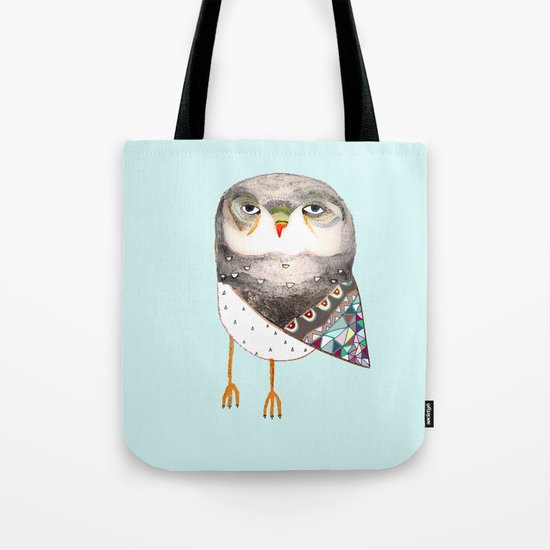Owl by Ashley Percival Tote Bag
