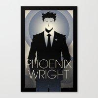 Phoenix Wright - 10th An… Canvas Print