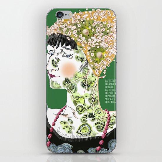 Anna Achmatova iPhone & iPod Skin