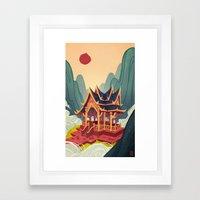 Air Temple Framed Art Print