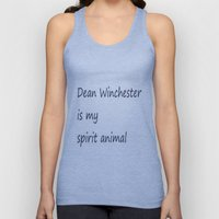 Dean Winchester Is My Spirit Animal (Supernatural inspired) Unisex Tank Top