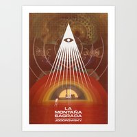 The Holy Mountain, Jodorowsky Art Print