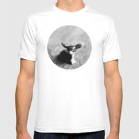 Quiet Fawn Mens Fitted Tee White SMALL