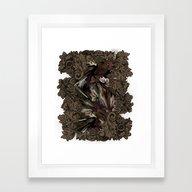 Impressive Brier Pattern… Framed Art Print