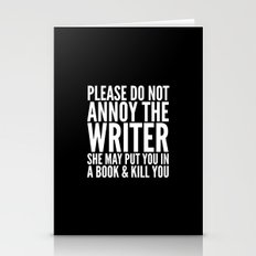 Please Do Not Annoy The … Stationery Cards