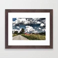 Backroads Framed Art Print
