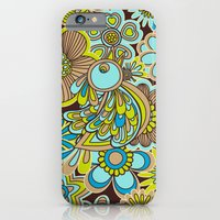 welcome birds to...(brown).  iPhone 6 Slim Case